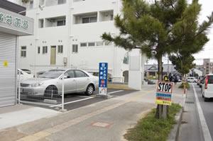 駐車場入り口3